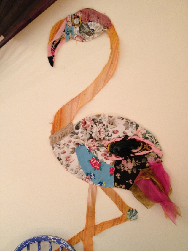 Frederick the reloved flamingo